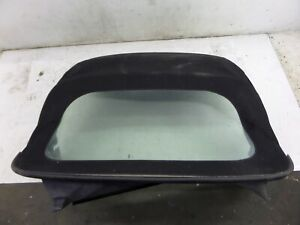 Porsche Boxster Convertible Softtop Roof Black 986 56144300 Plasticwindowglass