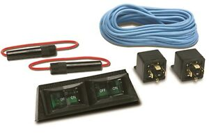 Pro Comp Suspension 9400 Driving Light Wiring Kit Dual Mini For 4 Lights