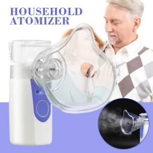 Portable Handheld Ultrasonic Mini Nebulize Inhaler Machine Children Adult Kid