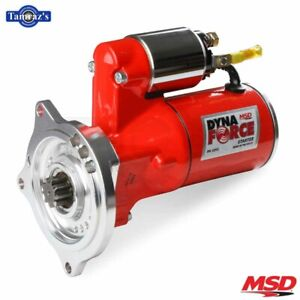Ford Fe Block 390 427 428 Engines Msd Dynaforce Starter Motor Red