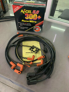 Accel 7048 Custom Fit 300 Race Spark Plug Wire Set Blow Out
