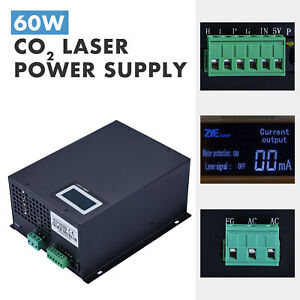 60w Laser Power Supply For Co2 Laser Tube Engraver Cutter Engraving Machines
