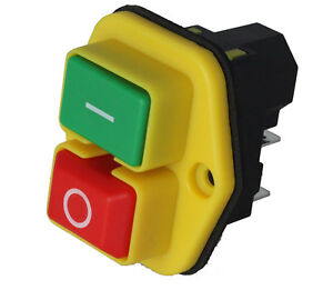 Genuine Stop Start Switch Fits Belle Cement Mixer Minimix 150 110v 900 41800