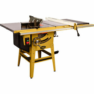 Powermatic Table Saw 1 3 4 Hp 1 Ph 115 230v 50in Accu fence With Riving Knife