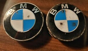 Used bmw 36 13 6 783 536 Wheel Center Caps With Chrome