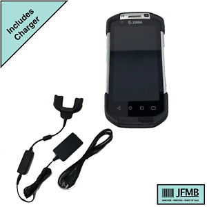 Motorola Symbol Tc75 Barcode Touch Computer With Crd tc7x Charger Cradle