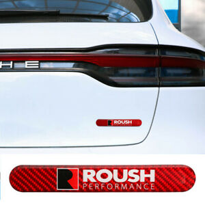 1pcs Trd Carbon Fiber Red Car Side Door Edge Scratch Protector Guard Sticker