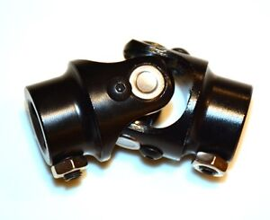 Black Steering Shaft U Joint 3 4 Dd X 3 4 Dd Universal Joint 3 4 Coupler