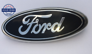 Black Chrome 2005 2014 Ford F150 Front Grille tailgate 9 Inch Oval Emblem 1pcs