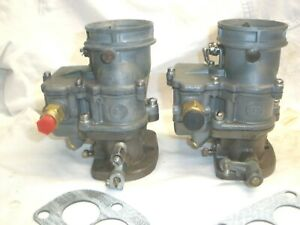 2 Stromberg Big Logo 97 Carb Hot Rod Rat Scta Flathead