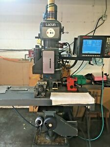 Lagun Ftv 2 3 Axis Cnc Mill With Hass 5c Programmable Work Head