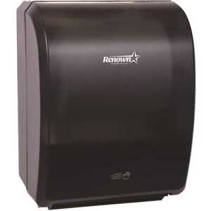 Renown Ren05176 wb Electronic Hand Towel Roll Dispenser 7 5 Automatic Restroom