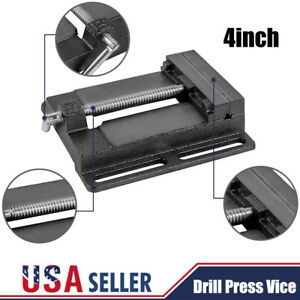 4inch Drill Press Vise Shop Tools Heavy Duty Bench Top Drill Press Vice