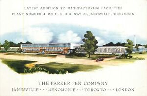 The Latest Addition Plant No 4 Parker Pen Company Janesville Wisconsin Wi