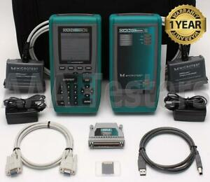 Fluke Microtest Omniscanner 2 Cat5 Cat5e Cat6 Digital Cable Analyzer Certifier