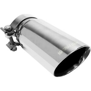 Magnaflow Exhaust Products 35210 Exhaust Tip Stainless Steel 3 5 Round