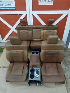 King Ranch F150 Seats Crew Cab 2004 2005 2006 2007 2008 Power Heat Memory Ford