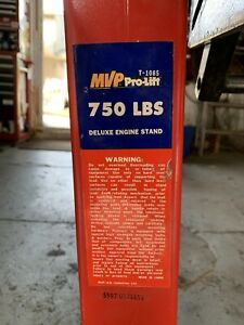 Deluxe Engine Stand Mvp Pro Lift T 1085
