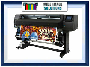 Hp Latex Plotter Printer 365 64 Wideimagesolutions Refurbished We Have It All