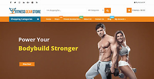 Exclusive Fitness Store Turnkey Dropshipping Business Website