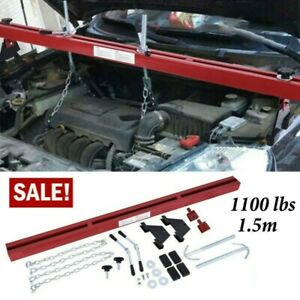 1100lbs Capacity Engine Load Leveler Support Bar Transmission W Dual Hook 28