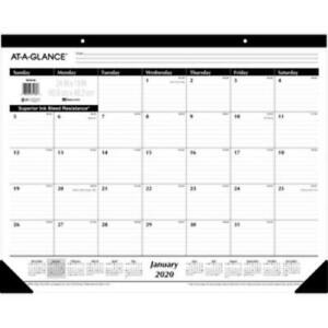 At A Glance Sk30 00 At a glance Nonrefillable 12 months Desk Pad Monthly 24