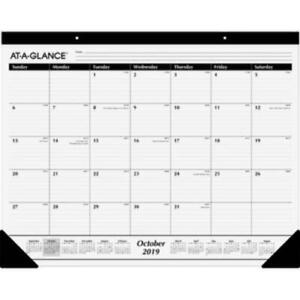 At A Glance Sk2416 00 At a glance Nonrefillable 16 month Desk Pad Monthly