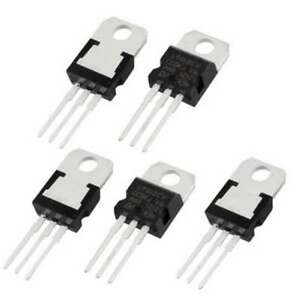 5 Pcs Positive 12 Volt Voltage Regulator 1 5 Amp To220 L7812 Lm7812 78012