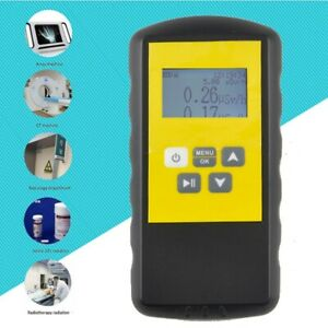 New Smart Geiger Counter Y Xray Nuclear Radiation Monitor Meter Detector