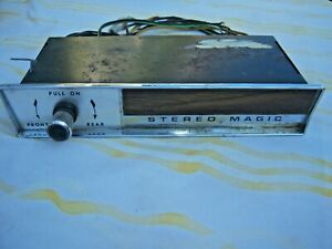Vintage 60 S Tenna Stereo Magic Car Radio Reverb Hot Rod Gm Custom