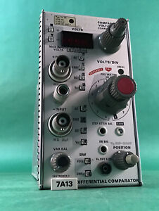 Tektronix 7a13 Differential Comparator Plug In