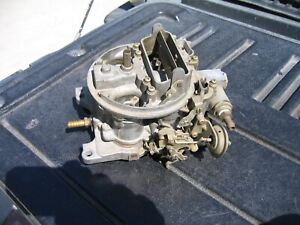 Holley Economaster Carburetor 450 Cfm L 7456 Looks To Me Low Hour See Pictures