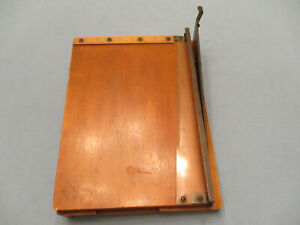 Working Antique Paper Cutter From England Merretts Patent 123961