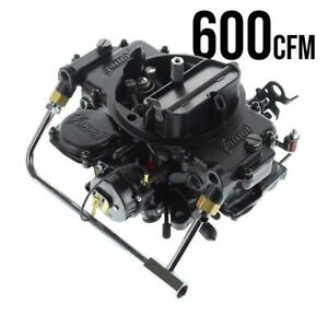 Summit Racing Black 600 Cfm Square Bore Electric Choke Carburetor M08601vs