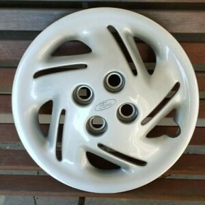 Ford Escort 1997 2002 14 Oem 10 Slot Hubcap Wheel Cover F7c6 1130 ad