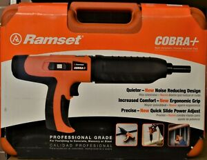 Ramset Cobra 27 Caliber Semi automatic Powder Actuated Tool New