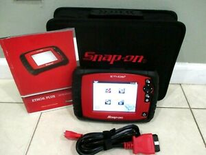 Snap On Ethos Plus Diagnostic Scanner Domestic Asian European 80 2020