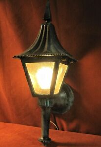 Sconce Porch Or Wall Vintage Mission Arts Crafts Bungalow Patina Finish