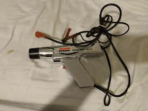 Vintage Crome Penske Timing Light Gun Model 244 2115