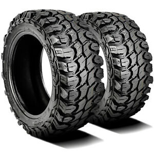 2 New Gladiator X comp M t Lt 35x12 50r22 Load F 12 Ply Mt Mud Tires