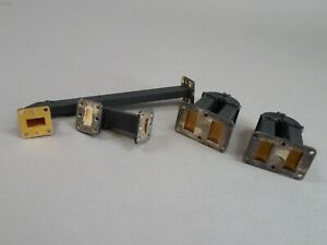 Mix Lot Of 4 Waveguide Wr51 Wr75