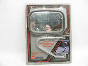 Peterson Manufacturing 823 Universal Low Mount Towing Truck Mirror 6 X 8 3 4