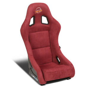 Nrg Innovations Frp 303mar prisma Medium Alcantara Racing Bucket Seat side Mount