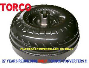 Dodge 47re 48re Triple Billet Cover Extra Low Stall Heavy Duty Torque Converter