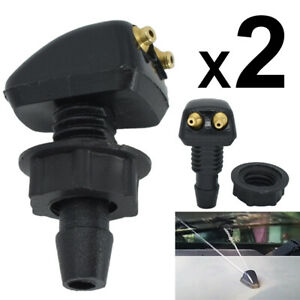 Universal Car Windshield Wiper Sprayer Jet Auto Washer Spout Nozzle Sprinkler