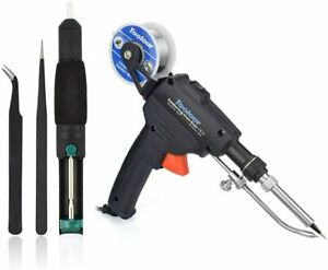 Toolour Automatic Soldering Gun Kit 5 In 1 60w Auto Solder Feed Welding Tool