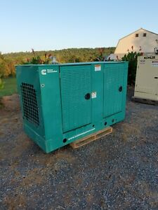 Onan 40kw 42kw 06 Nat Gas Propane 593 Hrs Ford Engine Generator