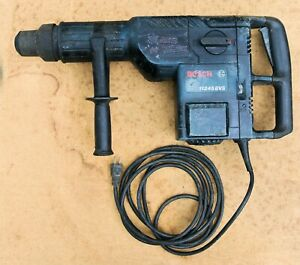 Bosch 2 Sds max Combination Hammer Drill 11245evs 14 Amp W chisel Bit Corded