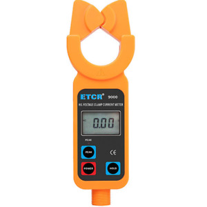 Etcr9000 High low Voltage Clamp Meter 0 0ma 1000a Datamemory 5m Insulation