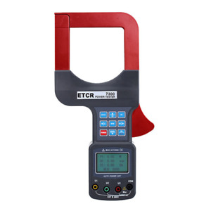 Etcr7300 Large Caliber Three Phase Clamp Power Meter Frequency 25hz 100hz